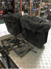 VALISES SACOCHES CUIR BAGAGERIE BMW R75/5